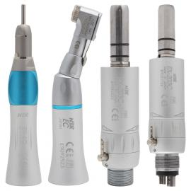 NSK EX203C Dental Low Speed Handpiece Straight Contra Angle Air Motor 2/4Holes