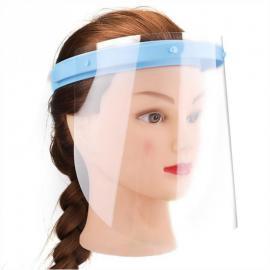 Face Shield Clear Glasses Protector Anti-Fog 1 Frame+10 Visors Gesicht schild Protección Facial Écran Facial Faccia Scudo